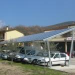 pensilina fotovoltaica 6